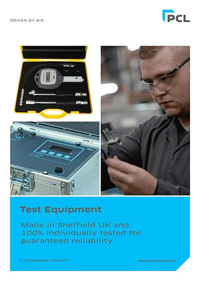 PCL PCL Test Equipment Brochure