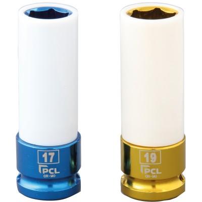 PCL 1/2″驱动式铝合金轮毂单件气动套筒