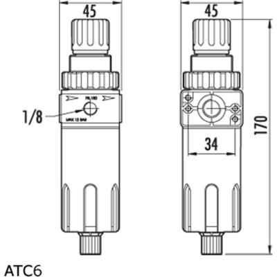 PCL  - 过滤调压阀